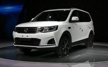 2017上海车展 东风风行景逸X6静态评测