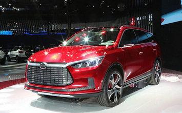 2017上海车展 静态评比亚迪王朝概念车