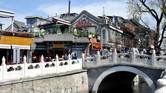 在北京怎能不去什刹海 感受后海慢生活