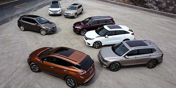 7款中型SUV对比 谁能给你如家的舒适?