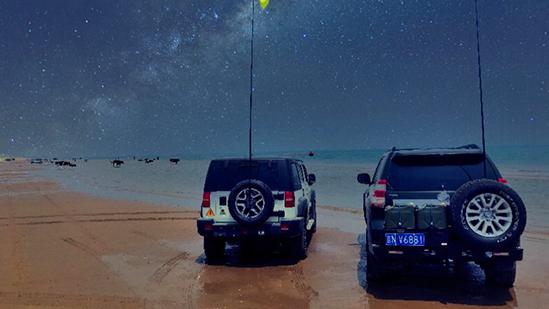 沙滩火锅越野车,在翡翠岛这就是一切