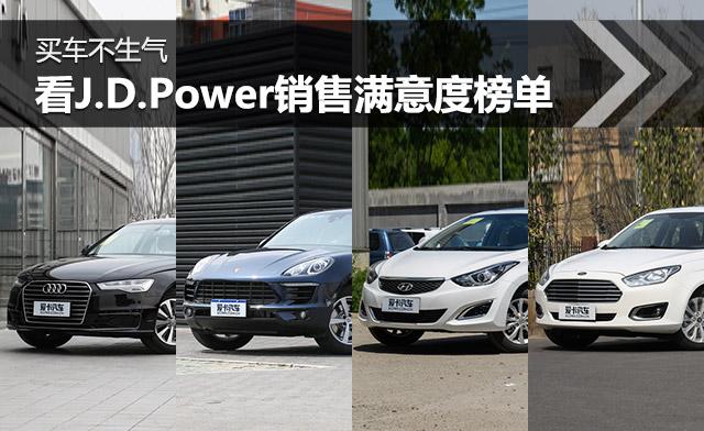 买车不生气 看J.D.Power销售满意度榜单