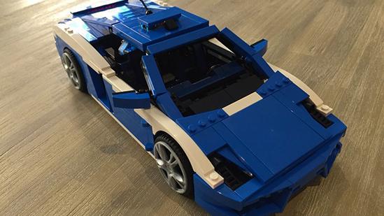 兰博基尼警车,LEGO 8214