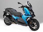 配置丰富的单缸踏板车 宝马发布C400X
