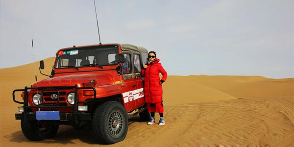 走进沙漠 走进胡杨林