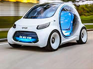 smart fortwo纯电概念车
