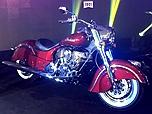 印第安酋长摩托车正式上市 售25.99万起