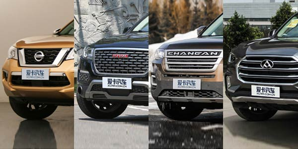 靠实力来说话 25万元内中大型SUV对比