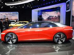 车展看大众I.D.VIZZION未来电动轿跑