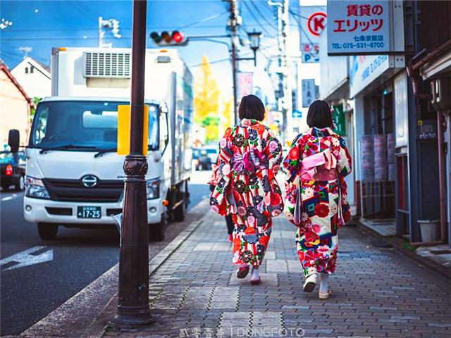 去京都玩得慢条斯理