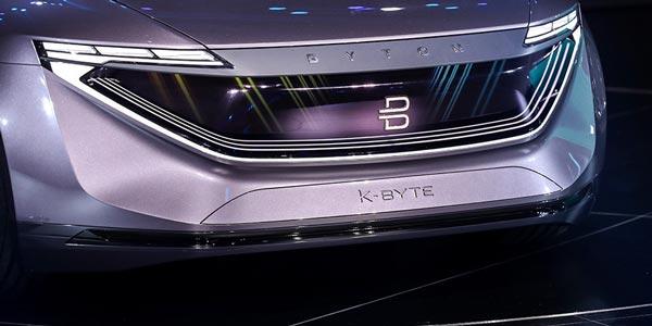 半年2台概念车 解析拜腾K-Byte Concept