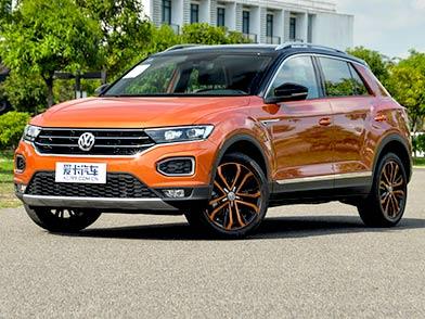 定位紧凑型SUV 造型时尚动感 T-ROC探歌