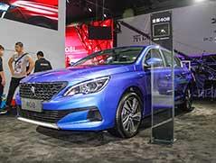 2018广州车展 全新标致408静评