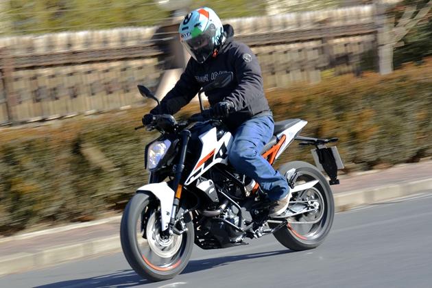 250级别新霸主 KTM 250 DUKE试驾体验