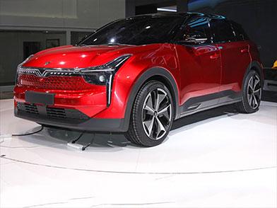 合众纯电中型SUV 开启预售