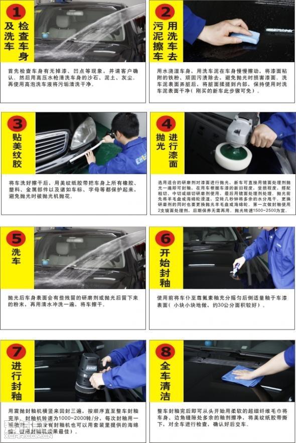 斯带您体验专业汽车美容服务高清图片