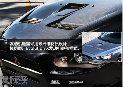 三菱EVO跑车替身 翼神高清图片