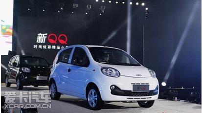 奇瑞QQ(共4款车型)-经典在超越 炫彩新QQ火爆热销高清图片