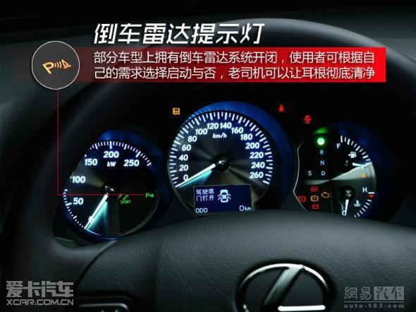 图解汽车各种按钮 仪表的作用和含义高清图片