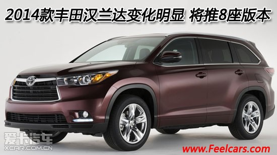 广汽汉兰达2014款价格丰田汉兰达最报价