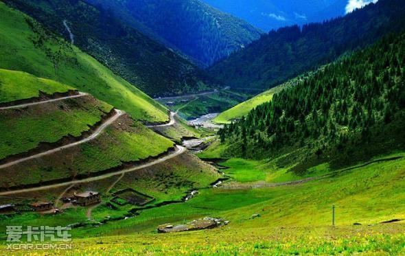 318川藏线,中国最美的公路-1_【徐州力狮汽车