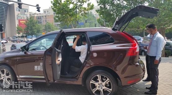 沃尔沃经典车型豪华suvxc60高清图片