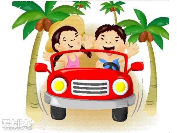 儿童骑车上坡卡通素材