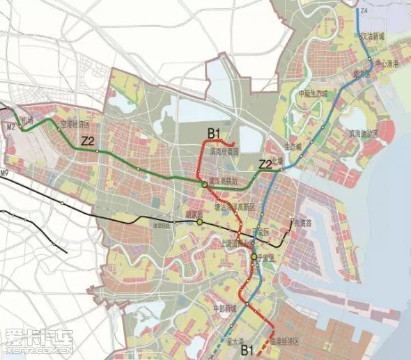 天津市z4地铁线路图-未来宝坻新城,有 颜值 有 气质 走进宝坻 天津市图片