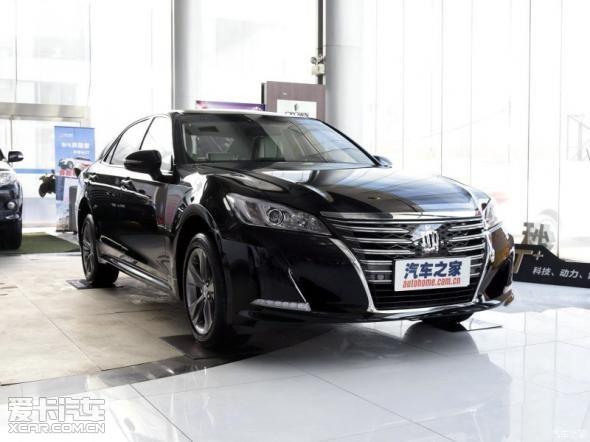 丰田皇冠现车优惠8万元售全国赠豪礼高清图片