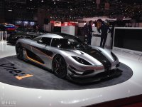 科尼塞克One:1北京车展发布 全球仅6台