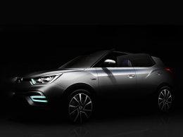 双龙新概念车预告图 10月巴黎车展亮相