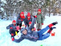冰雪 爆甩 北漂男初体验 奥迪驾控之旅