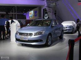 2015上海车展 艾瑞泽7混动新车正式亮相