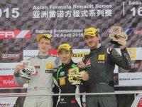 亚洲雷诺方程式雪邦站 郑安迪获第三冠