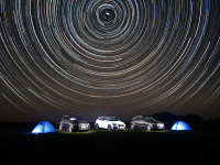 爱卡旅行社 乌兰布统草原星空摄影游记