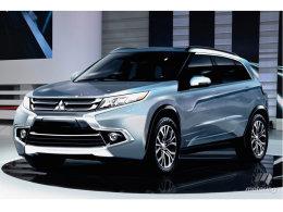 三菱全新ASX劲炫概念车效果图 明年发布