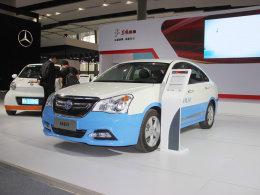 2015广州车展:新东风风神A60 EV亮相