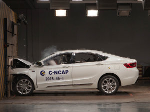 2015年C-NCAP第四批碰撞解析