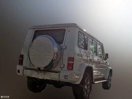 北汽BJ80实车照曝光 将于今年年初上市