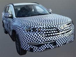 长安CS95量产版将北京车展发布 7座布局