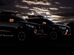 三菱两款概念车预告图 日内瓦车展亮相