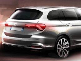菲亚特Tipo SW预告图 将日内瓦车展发布