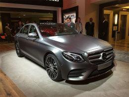北京奔驰新E级长轴版定于北京车展首发