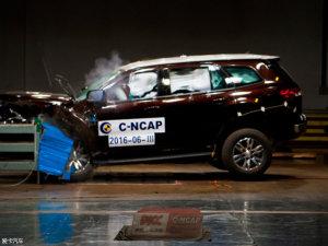2016年C-NCAP碰撞SUV成绩优异