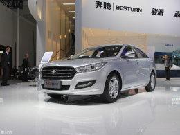 奔腾全新B50北京车展首发 预计8月上市