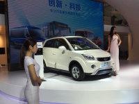 2016北京车展:长江EV SUV逸酷正式发布