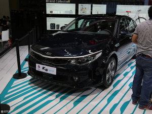 2016北京车展:起亚全新K5混动版首发