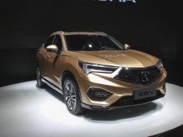 首款国产SUV 北京车展实拍广汽讴歌CDX
