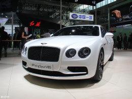 宾利飞驰V8 S北京车展发布 土豪请注意