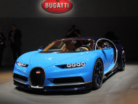 布加迪新车计划 将推Chiron敞篷版车型